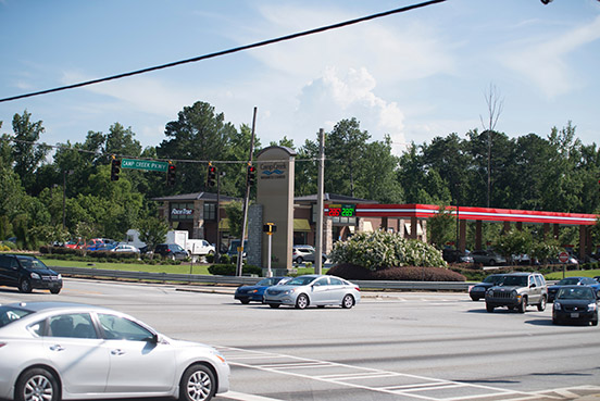 NORTH COMMERCE AND CAMP CREEK PARKWAY INTERSECTION IMPROVEMENTS