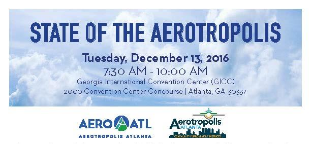 State of the Aerotropolis – Dec. 13, 2016