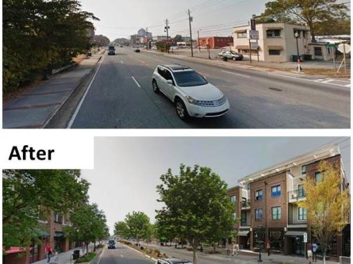 STUDY – VIRGINIA AVENUE STREETSCAPE PLAN
