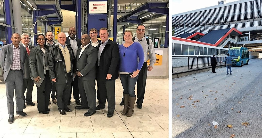 Transit Feasibility Study Team Visits London and Amsterdam